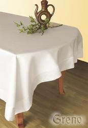 Obrus teflonowany GREEK Greno kremowy - kremowy