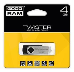 GOODRAM TWISTER 4GB Black USB2.0