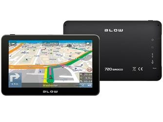 BLOW Nawigacja GPS720 SIROCCO 8GB EUROPA