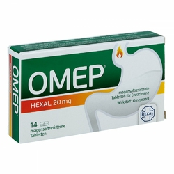 Omep Hexal 20 mg magensaftr.Tabl.