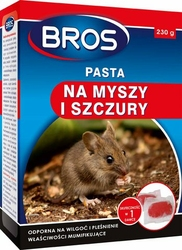 Bros, pasta na myszy i szczury, 230g