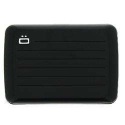 Portfel Aluminiowy Ogon Designs Stockholm V2 Black RFID protect