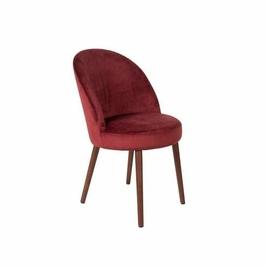 Dutchbone :: Krzesło BARBARA czerwone - czerwony