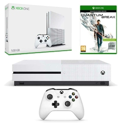 KONSOLA XBOX ONE S 500 GB + QUANTUM BREAK