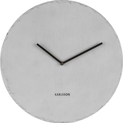 Zegar ścienny Slate 40 cm szary