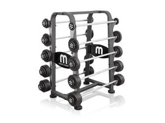 Stojak z gryfami sta�ymi 10-55kg MP-S211 - Marbo Sport
