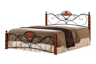 Łóżko dwuosobowe Florencja 160x200 antyczna czereśnia