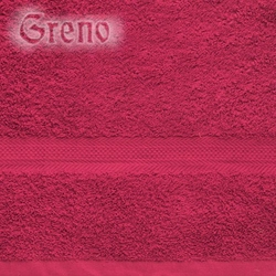 Ręcznik JANOSIK NEW Frotex bordowy - bordowy