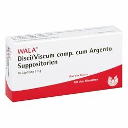 Disci Viscum Comp. c. Argento Suppos.
