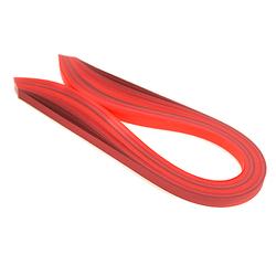 Paski do quillingu 3 mm - 100 sztuk - czerwone - CZW