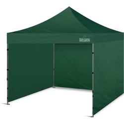 Namiot handlowy zielony 300x300 cm