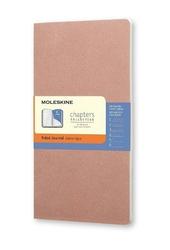 Notes Moleskine Chapters Journal M różany w linie