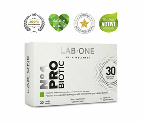 LAB ONE PRObiotic x 30 kapsułek