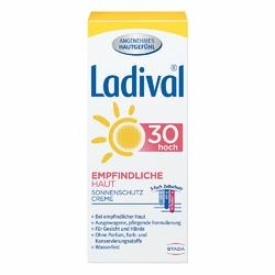 Ladival krem do twarzy i rąk dla skóry wrażliwej SPF30