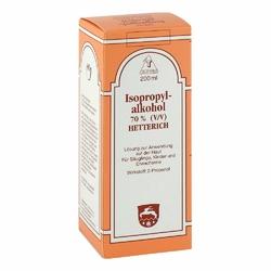Isopropylalkohol 70 Vv hetterich roztwór