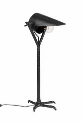 Dutchbone :: Lampa biurkowa Falcon czarna
