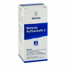 Weleda Aufbaukalk Węglan wapnia 2 Proszek