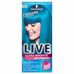 Schwarzkopf, Live, 0-96 Kuszący Turkus, krem koloryzujący do włosów