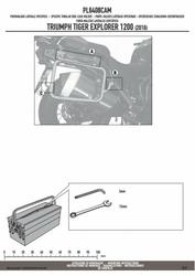 GIVI PL6408CAM stelaż boczny OUTBACK Tiger Explorer