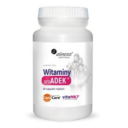ADEK witaminy ProADEK®  60 kapsułek miękkich