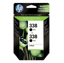 HP oryginalny ink CB331EE, No.338, black, 900 2x450s, 2x11ml, HP 2-Pack, C8765EE, PSC-1610, OJ-6210, DeskJet 6840
