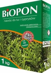 Biopon, nawóz granulowany do tui i cyprysów, 1kg