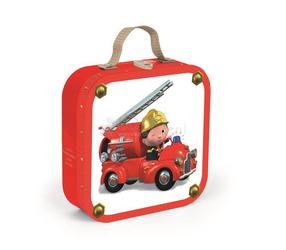 Puzzle 4w1 Wóz strażacki Jacka, Janod