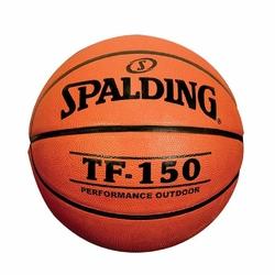 Obręcz do kosza Kimet mała 37 cm + Piłka do koszykówki Spalding TF-150 FIBA