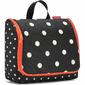 Duża kosmetyczka podróżna Reisenthel Toiletbag XL Mixed Dots RWO7051