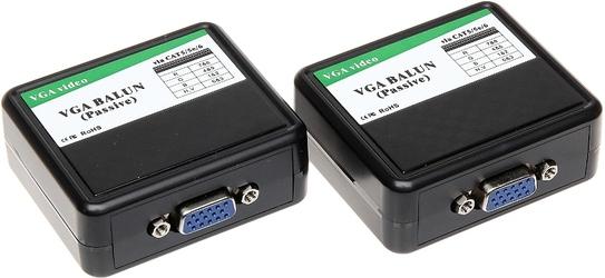 EXTENDER VGA-EX-30 VGA PO SKRĘTCE DO 180M. - Szybka dostawa lub możliwość odbioru w 39 miastach