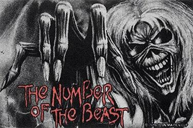 Iron Maiden The Number Of The Beast - wycieraczka