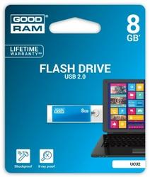 GOODRAM CUBE 8GB USB2.0  BLUE