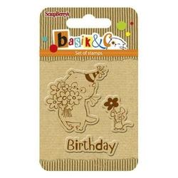 Zestaw stempli basikC - birthday - 039