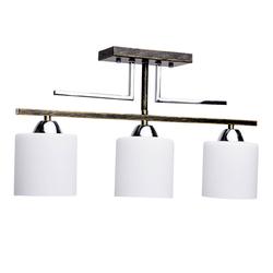 Lampa sufitowa do nowoczesnych wnętrz na 3 żarówki DeMarkt 673010803