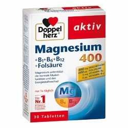 Doppelherz Magnez 400 mg tabletki