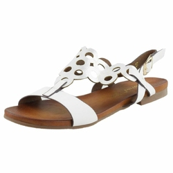 Białe Sandały Vogue Carla CoZaButy