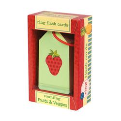 Mudpuppy Karty do nauki Owoce i warzywa