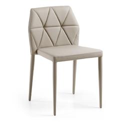 Krzesło CARILO perłowe - beżowy