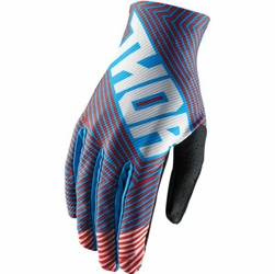 THOR RĘKAWICE VOID GEOTEC S8 OFFROAD BLUERED