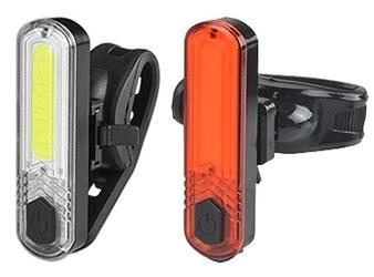 Zestaw oświetlenia Azimut COB JY-6056 10 LED aku USB