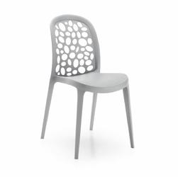 Krzesło RONIN 45x49 kolor szary - jasno szary