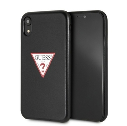 GUESS Etui hardcase GUHCI61PTPUBK iPhone Xr Triangle czarny