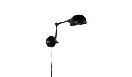 Lampa ścienna Almelo czarna