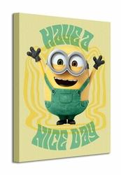 Minions Have a Nice Day - Obraz na płótnie