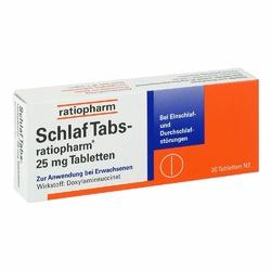 Schlaf Tabs ratiopharm 25 mg Tabl.