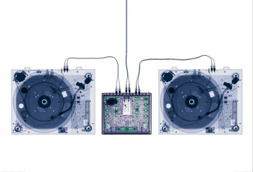X Ray DJ Decks - fototapeta