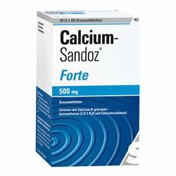 Calcium Sandoz forte tabletki musujące