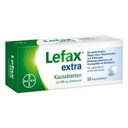 Lefax extra Kautabl.