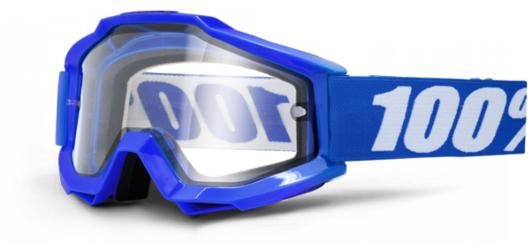 GOGLE 100 ACCURI ENDURO REFLEX BLUE