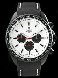 Zegarek meski PERFECT Y2180 - blackwhite   zp107c